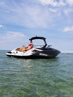 Used Scarab 255 HO Impulse High Performance Boat For Sale