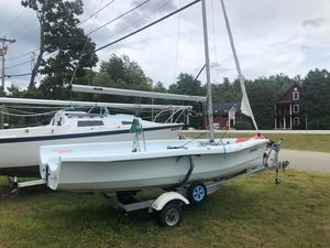 Used Laser Bahia Racer and Cruiser Sailboat For Sale