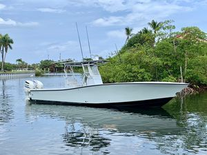 Used Conch 33 Open Center Console Fishing Boat For Sale