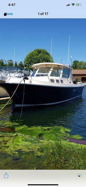 Used Albin 31 Tournament Express Downeast Fishing Boat For Sale