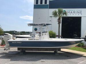 New Sea Pro 248 Bay Center Console Fishing Boat For Sale