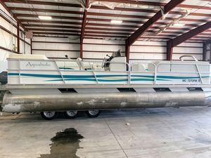 Used Aqua Patio Pontoon Boat For Sale