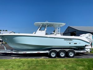 New Everglades 335cc Center Console Fishing Boat For Sale