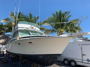 Used Bertram 35 Sport Fisherman Sports Fishing Boat For Sale