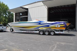 Used Cigarette 38' Top Gun High Performance Boat For Sale