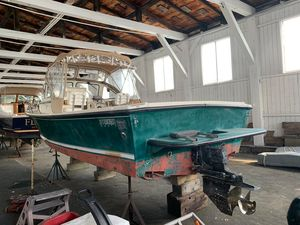 Used Steiger Craft 25 Block Island Cuddy Cabin Boat For Sale