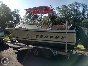Used Trophy 2002 Walk Around Walkaround Fishing Boat For Sale