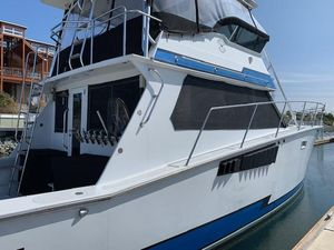 Used Custom Grizzly Yachts Convertible Fishing Boat For Sale