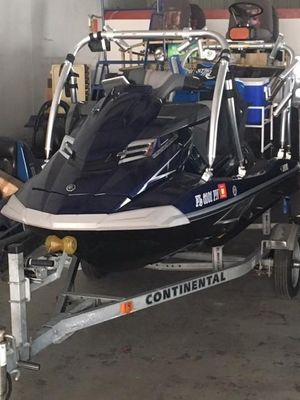 Used Yamaha Waverunner FX Cruiser SHO High Performance Boat For Sale