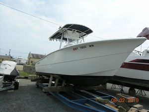 Used Sea Pro 238 Center Consol Center Console Fishing Boat For Sale