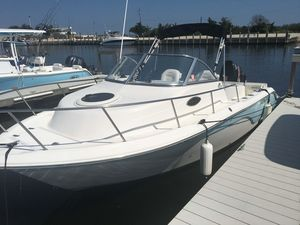 Used Sea Fox 216 Walk Around Freshwater Fishing Boat For Sale