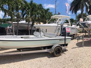 Used Action Craft Ace Flatsmaster 1820 Center Console Fishing Boat For Sale