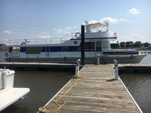 Used Pluckebaum Baymaster House Boat For Sale