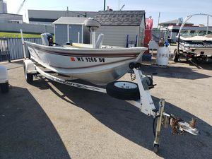 Used Alumacraft Lunker V-16 LTD Freshwater Fishing Boat For Sale