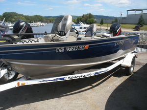 Used Lund 1650 Explorer SS Freshwater Fishing Boat For Sale