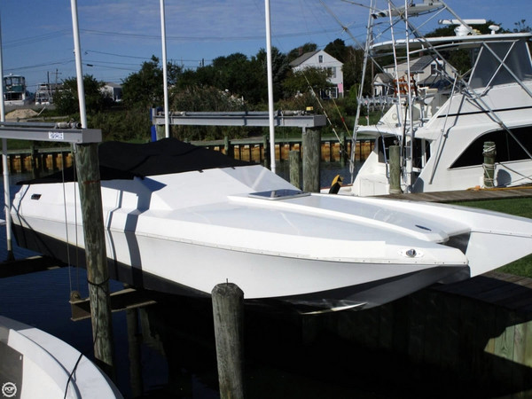 Used Cougar Offshore Tunnel High Performance Boat For Sale