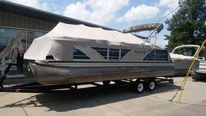 Used Aqua Patio 250 WB Pontoon Boat For Sale