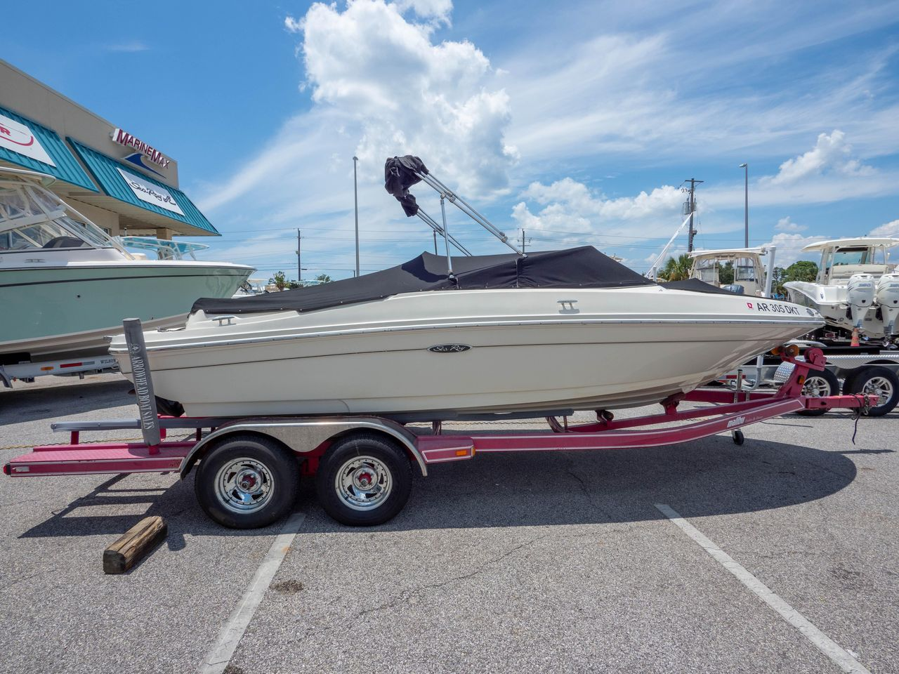 2010 Used Sea Ray 205 Sport High Performance Boat For Sale