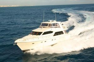 Used Hampton 630 PH Motoryacht Flybridge Boat For Sale