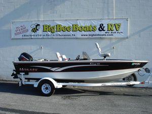 Used Monark King 160 SCKing 160 SC Bass Boat For Sale