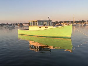Used Downeast 37 BEAL Lobster Yacht Downeast Fishing Boat For Sale