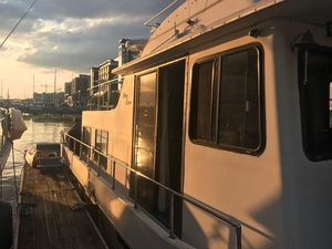 Used Holiday Mansion Coastal Barracuda House Boat For Sale
