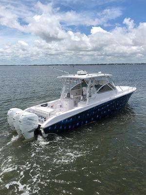 Used Fountain 38 Sportfish Cruiser38 Sportfish Cruiser Sports Fishing Boat For Sale