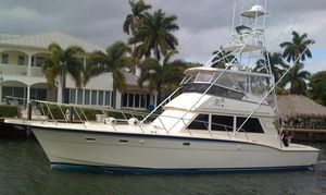 Used Hatteras 52 Convertible W/tower Convertible Fishing Boat For Sale