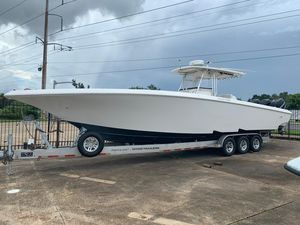 Used Fountain 38 Center Console Center Console Fishing Boat For Sale