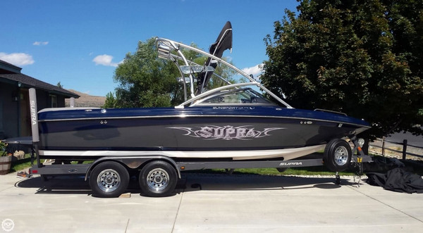 Used Supra SUNSPORT 22V Ski and Wakeboard Boat For Sale