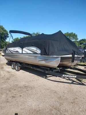Used Jc Pontoon 24 TT Sporttoon Pontoon Boat For Sale