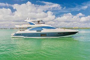 Used Azimut 80 Flybridge Mega Yacht For Sale