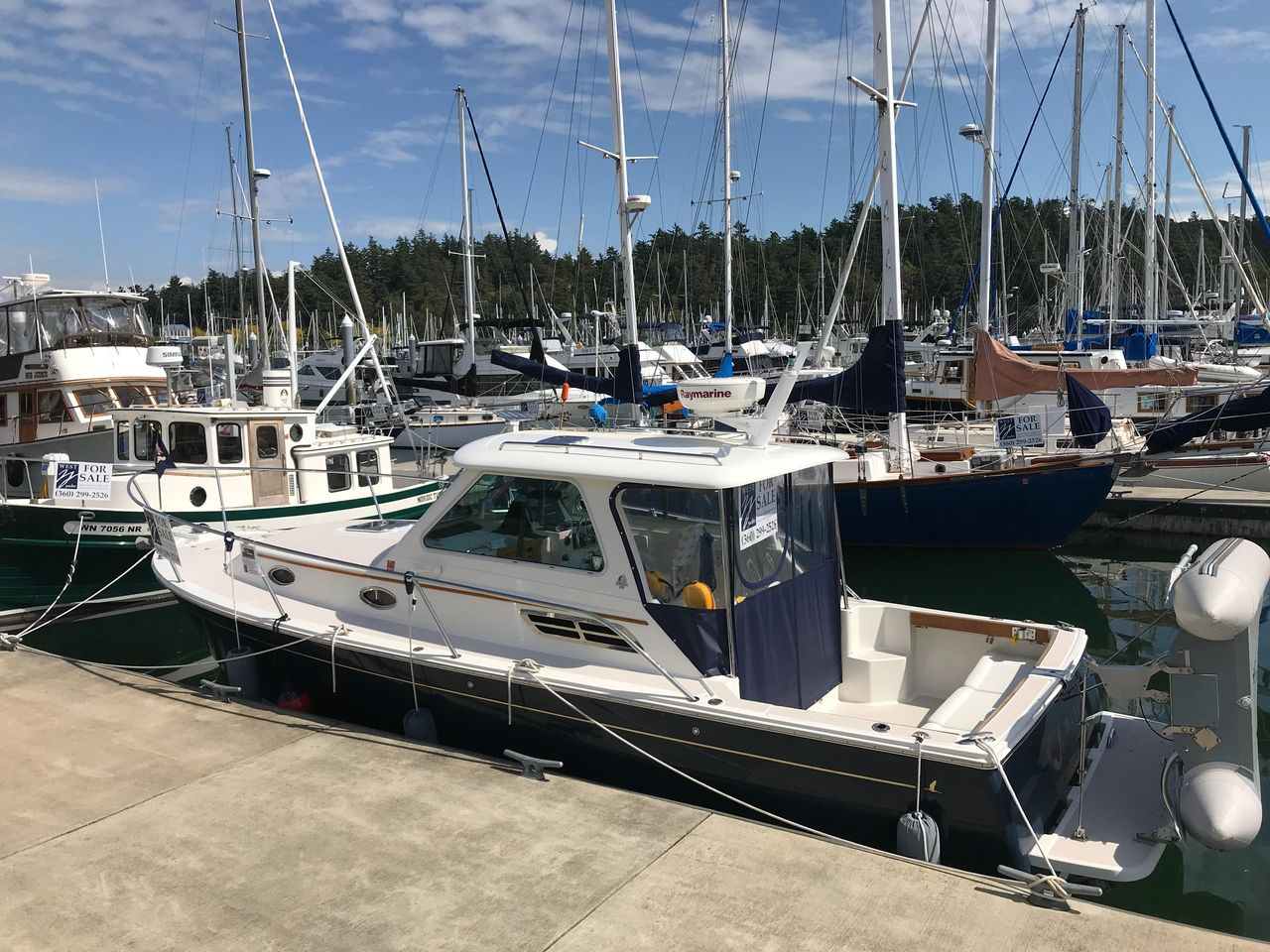 2006 Used Back Cove 29 Commercial Boat For Sale - $145,000