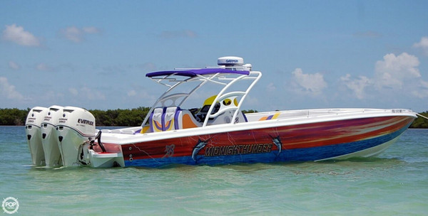 Used Midnighthunder 38 High Performance Boat For Sale