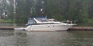 Used Bayliner 3055 Sunbridge Express Cruiser Boat For Sale