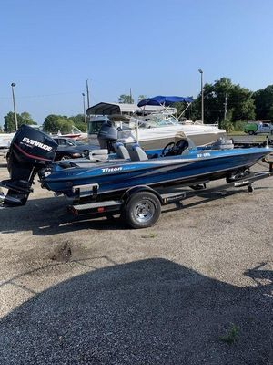 Used Triton TR 186TR 186 Bass Boat For Sale