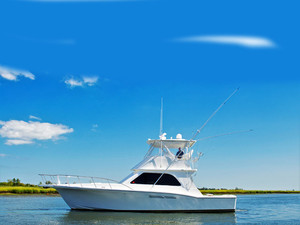 Used Charles Jannace 430 Convertible Sports Fishing Boat For Sale