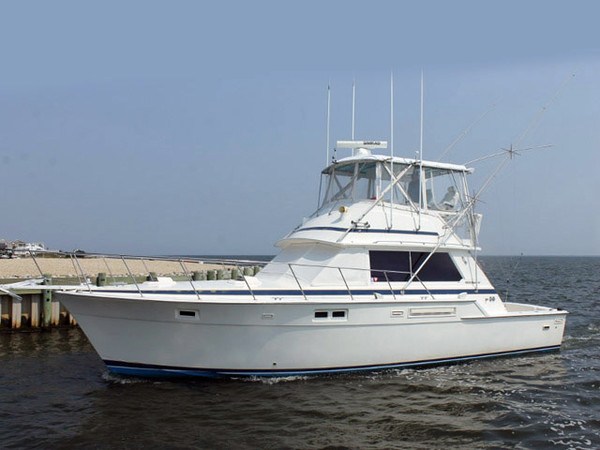 Used Bertram Sports Fishing Boat For Sale
