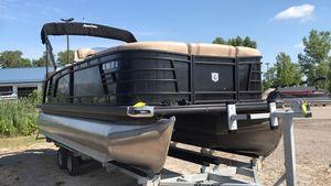 Used Aqua Patio 235 SB235 SB Pontoon Boat For Sale