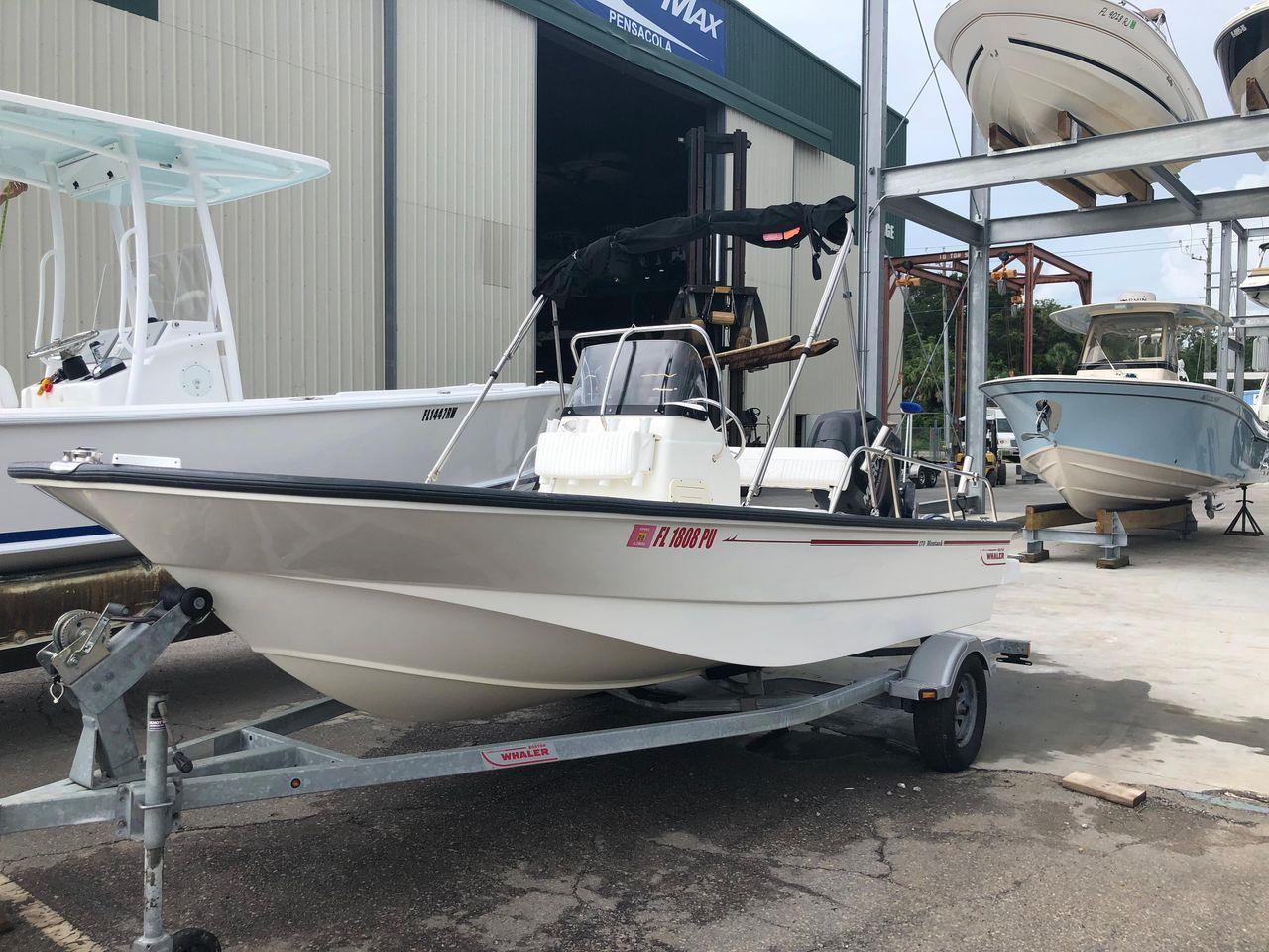 2014 Used Boston Whaler 17 Montauk Sports Fishing Boat For