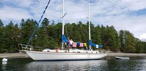 Used Gulfstar Sailing Vessel Center Cockpit Sailboat For Sale