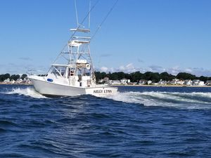 Used Jersey Canyon Express Saltwater Fishing Boat For Sale