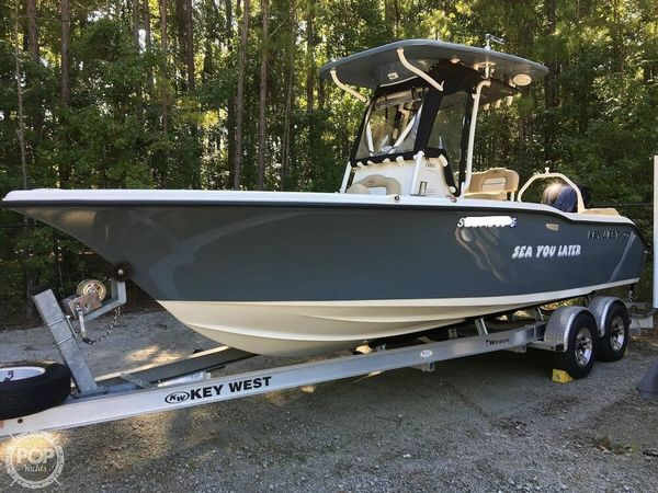 Used Key West 239 FS Center Console Fishing Boat For Sale
