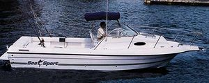 Used Sea Sport 2544 Walk Around Center Console Fishing Boat For Sale