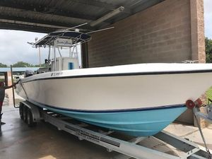 Used Contender 31 Open Fish Center Console Fishing Boat For Sale