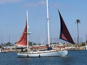 Used Hans Christian 43 Telstar Ketch Sailboat For Sale