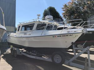 Used Sea Sport 2400 Explorer Saltwater Fishing Boat For Sale