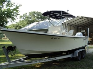 Used Parker 2300 Blue Water Edition Center Console Fishing Boat For Sale