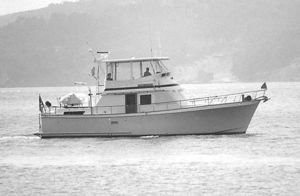 Used Monk Custom Double Cabin Trawler Boat For Sale