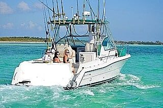 Used Stamas 310 Express Walkaround Fishing Boat For Sale